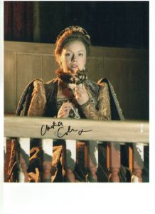 Christina Cole Signed 10 x 8 Photograph